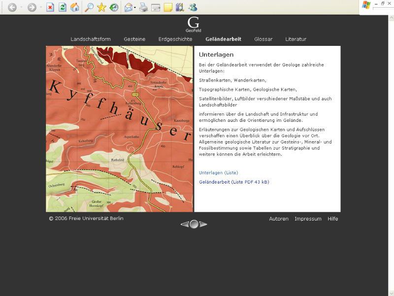 Geologie • Fachbereich Geowissenschaften