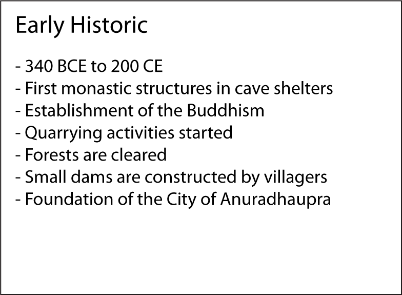 Early Historic factsheet