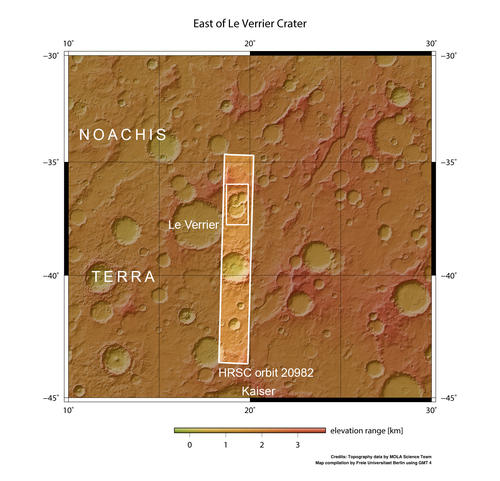 Crater triplets Context map