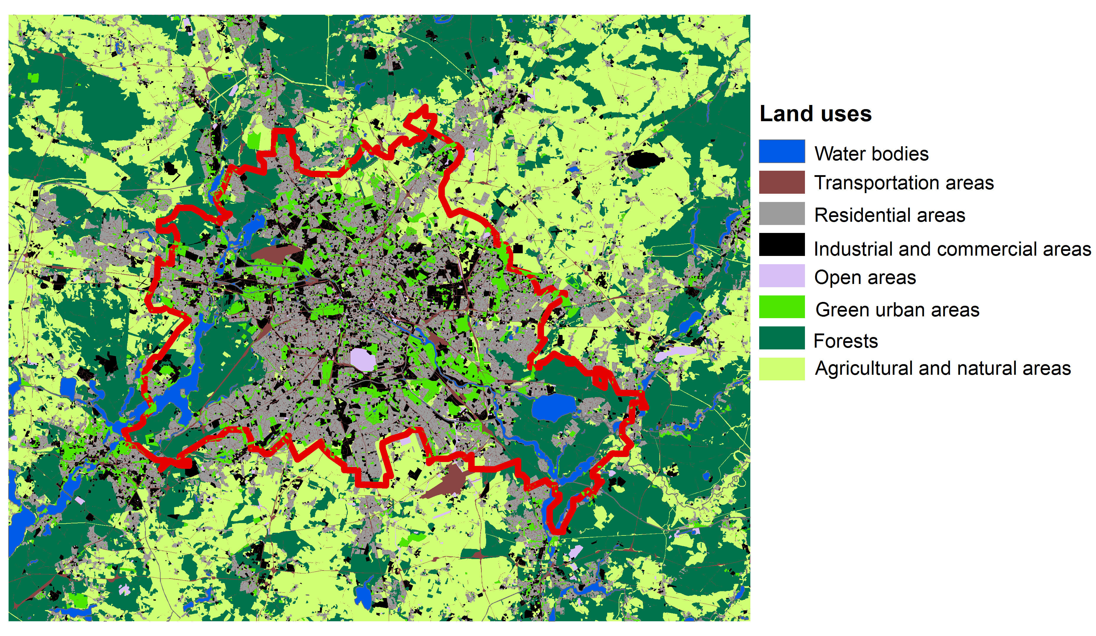 Some other useful GIS Products • Urban Climate and Urban ...