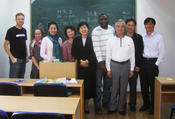 Mrs Lu's Introductory Chinese class, Nanjing University 2009