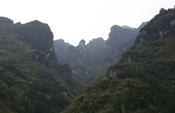 Mountains of the northern Huangling anticline, Hubei