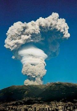 Dome collapse of Guagua Pinchincha Volcano (Ecuador) in October 1999