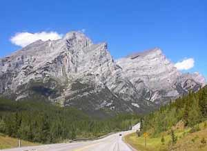 Mt. Kidd, Canadian Rocky Mountains Thrust Belt, North American plat