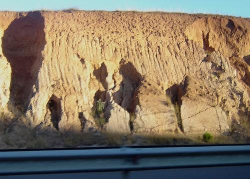 Examples of intense gully erosion. Concepcion