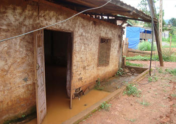 Flood in Nkolbisson