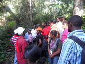 Joint field trip of locals, practioners and researchers