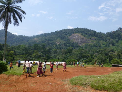 Upper Mefou subcatchment Cameroon 2012