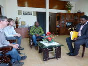 Meeting at Yaounde University