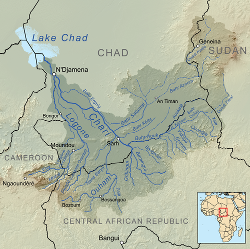 The Chari River: Border river and transboundary catchment