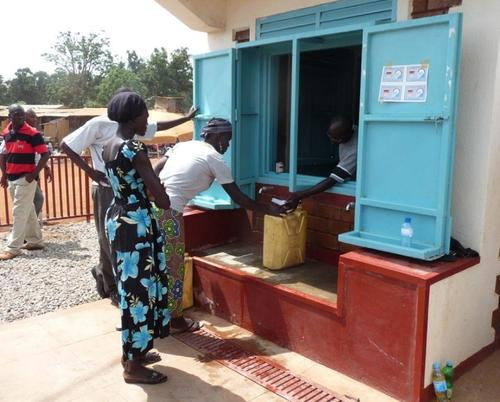 Water kiosk in South Sudan