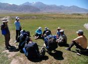 Master students at field work 2014