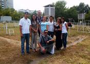 Visit to a weather station in Almaty 2014