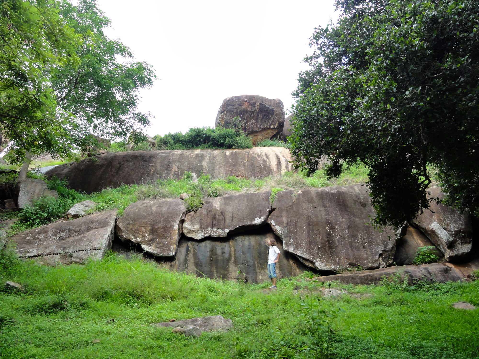 Rocks at Anuradhapura Hinterland