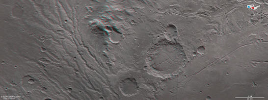 Arda Valles anaglyph