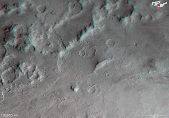Hellas Terraces anaglyph