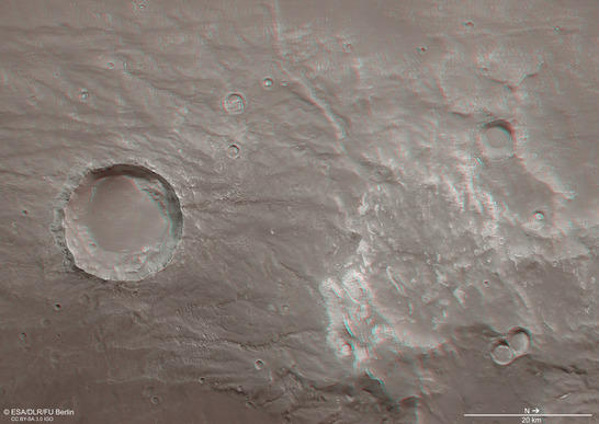 Coracis Fossae Anaglyphe
